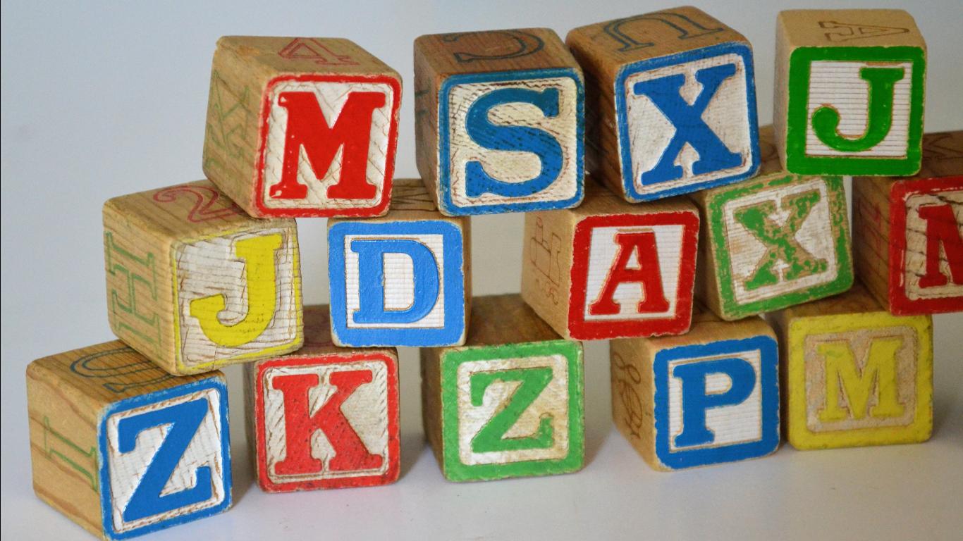 Nursery Toy Wooden Blocks
